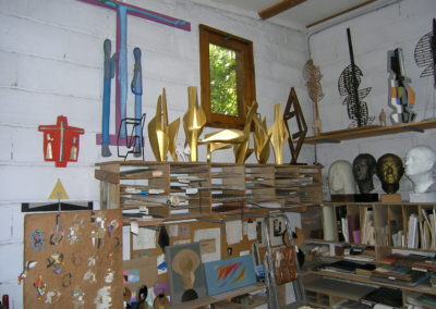 The rue George Sand atelier in Rennes