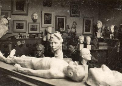 Pellerin's Paris atelier