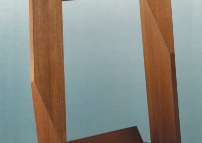 Structure, natural wood, 1960