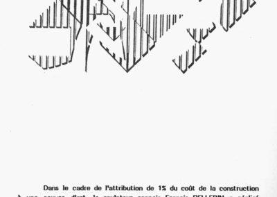Arpèges, drawing, Collège Anne de Bretagne