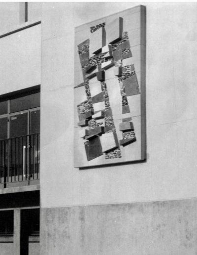 Mural, 1968, Collège, Janzé