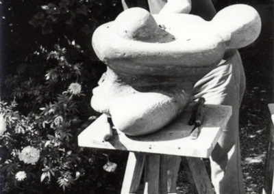 La Joie, a reworking, wood, 1982