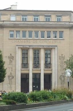 Les fruits de l'effort, 1953, former Chambre de Commerce, Caen