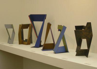 Exhibition at the Musée des Beaux-Arts de Rennes, 2005. Exhibition design: Eric Morin