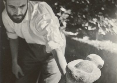 Working on La Joie, 1947, Rome