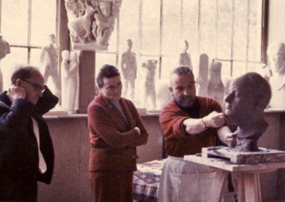 Atelier des Beaux Arts. Fin de pause de Jean Thoraval