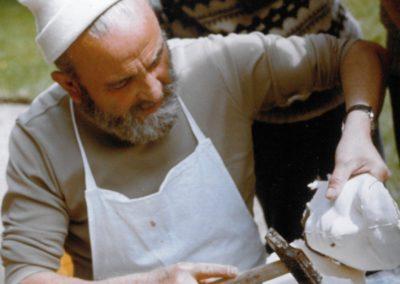 Moulage sur le Vif 1973 - Ecole des Beaux Arts de Rennes