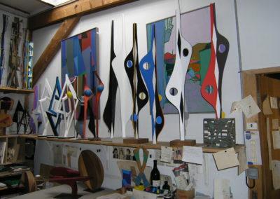 Atelier rue George Sand à Rennes