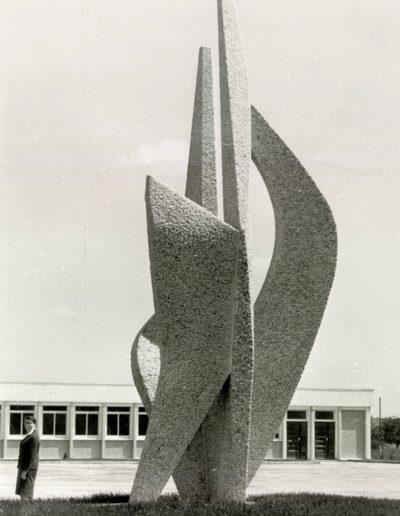 Lorient Lycée Keriado - Flamme - 1966
