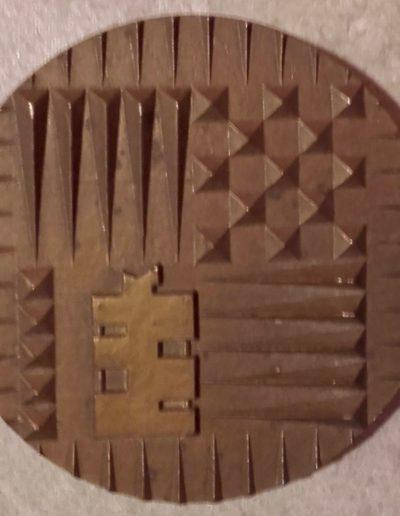 Celar - Bruz - Medaille du Celar - 1973