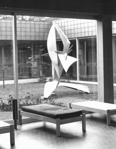 Ecole de voile de Quiberon BegRohu - Structure métal - 1977