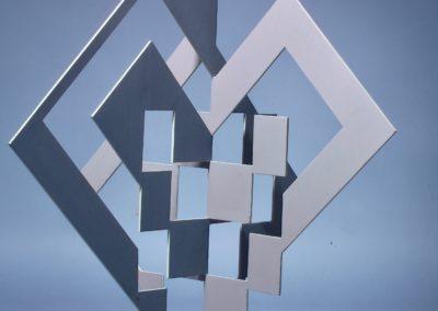 Structure déployée – métal peint 1960
