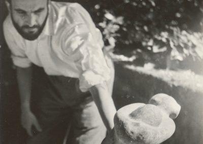 Travail sur La Joie - 1947 Rome